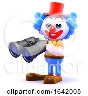 3d Clown Binoculars