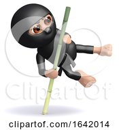 3d Ninja Pole Vault