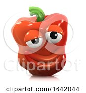 3d Affable Red Pepper