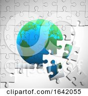 3d Earth Jigsaw Puzzle by Steve Young