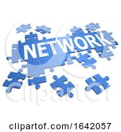 3d Network Jigsaw Puzzle by Steve Young