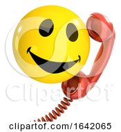 3d Smiley Phone