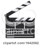 3d Movie Slate Clapperboard For The Cinema