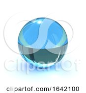 Poster, Art Print Of 3d Fortune Tellers Crystal Ball