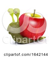 3d Apple Snail