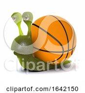 3d Basketball Snail