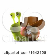 3d Sheriff Snail by Steve Young
