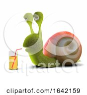 3d Party Snail by Steve Young