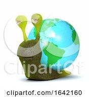 3d Globe Snail by Steve Young
