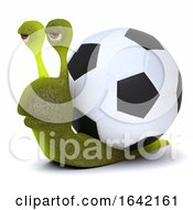 3d Football Snail by Steve Young