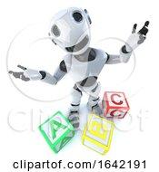 3d Robot Using Alphabet Blocks