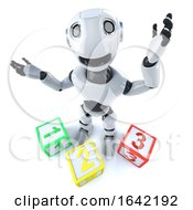3d Robot Using Counting Blocks