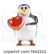 Poster, Art Print Of 3d Penguin Lover