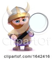 3d Magnifying Viking