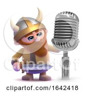 3d Viking Radio Announcer by Steve Young
