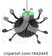 3d Spider Hanging Around