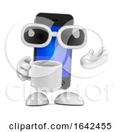 Poster, Art Print Of 3d Smartphone Tea Break