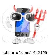 3d Evil Smartphone