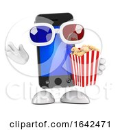 3d Smartphone At The Movies