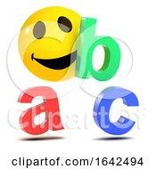 Poster, Art Print Of 3d Smiley Alphabet
