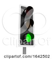 3d Traffic Light Shows Go