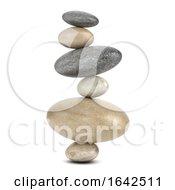 3d Improbable Stones