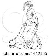 Sketched Bride by dero