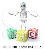 3d Skeleton Teaches The Alphabet