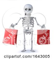 3d Skeleton Has Been To The Sales by Steve Young