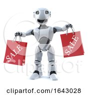 3d Robot Has Been To The Sales by Steve Young