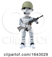 3d Robot Soldier by Steve Young