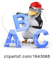 3d Penguin Alphabet