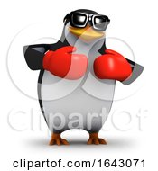 3d Penguin Boxer by Steve Young