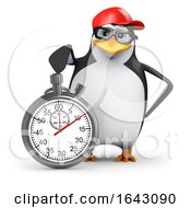 3d Penguin Is Timing You