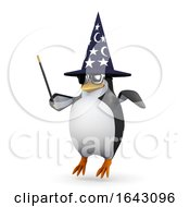 3d Penguin Wizard by Steve Young