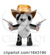 3d Cowboy Panda by Steve Young