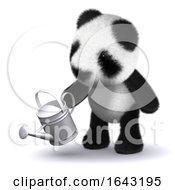 3d Panda Gardening by Steve Young