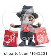 3d Old Man Has Been To The Sales by Steve Young