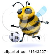 3d Honey Bee Soccer Player by Steve Young