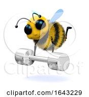 3d Honey Bee Weightlifter