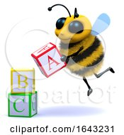 3d Bee Alphabet