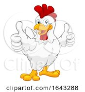 Poster, Art Print Of Chicken Cartoon Rooster Cockerel Character