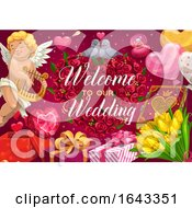 Poster, Art Print Of Welcome To Our Wedding Design
