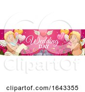 Poster, Art Print Of Horizontal Wedding Banner Design