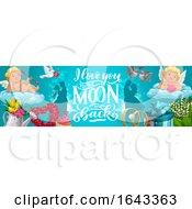 Horizontal Wedding Banner Design