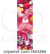 Poster, Art Print Of Vertical Wedding Banner Design