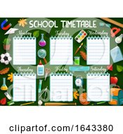 School Time Table by Vector Tradition SM
