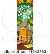 Back To School Vertical Website Banner