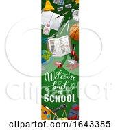 Poster, Art Print Of Back To School Vertical Website Banner