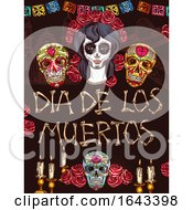 Dia De Los Muertos Mexican Design by Vector Tradition SM